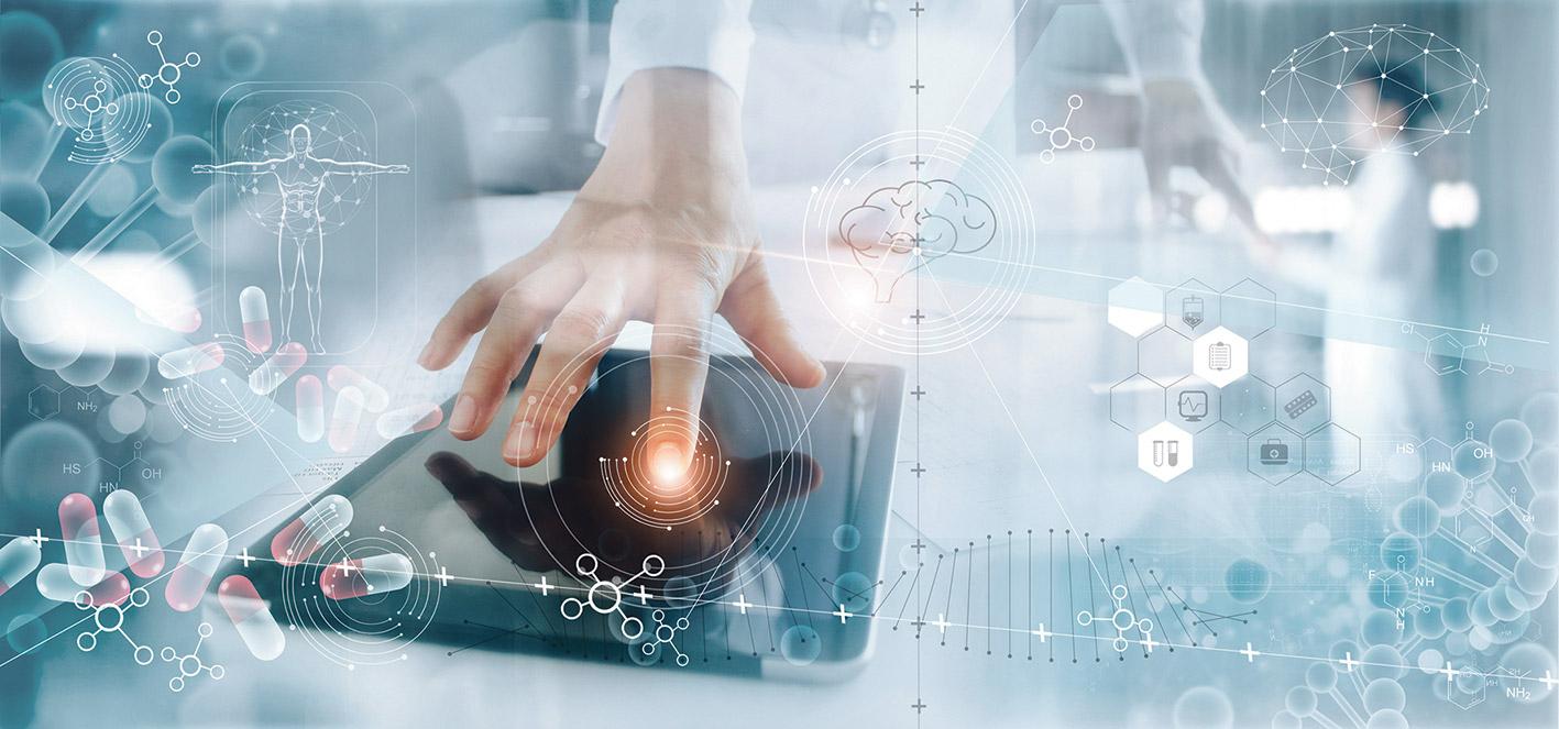 Verbildlichung digitaler Technologien in der Medizin